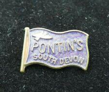 More details for scarce / vintage 1960's pontins south devon enamel pin badge