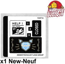 Lego - 1x Sticker Autocollant Super Heroes 70902 Catwoman Catcycle Chase NEUF