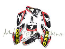 Motorcycle 3M GRAPHICS DECALS & BLACK PLASTIC BODY KIT FOR  HONDA CRF50 SDG