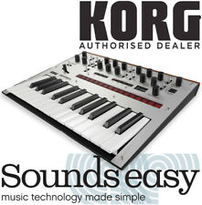 Korg monologue Monophonic Analogue Synthesizer SILVER