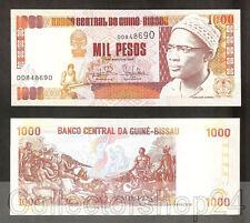 Guinea-Bissau 1000 Pesos 1993 Unc pn 13b