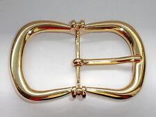 Gürtelschnalle 1,2 cm Farbe gold poliert 05.22 1 Schließe