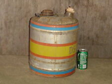 Rare MFA DS-3 DIESEL MOTOR OIL CAN 5 gallon metal vintage Missouri Mo Tenn TN