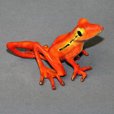 *Fantastic Bronze Frog Figurine Sculpture Statue Amphibian Art Signed & Numbered