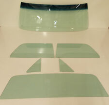 1964-1967 CHEVROLET EL CAMINO WINDSHIELD SIDES BACK GLASS TINTED 6 PC SET NEW