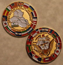 Operation IRAQI FREEDOM Coalition / Multi-National Forces US Navy Challenge Coin