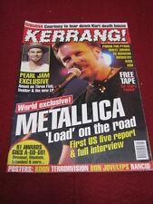 KERRANG! - METALLICA - 22 June 1996