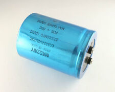 New Mallory CGS Series 220000uF 10V Large Can Screw Terminal Capacitor