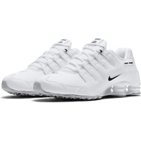 Nike Shox NZ EU Running Shoes White Black 501524-106 Men's NEW