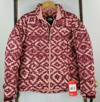 NWT THE NORTH FACE Small Nuptse 2 700 Down Womens Aztec Southwest Jacket New