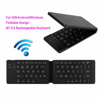 Mini Foldable Bluetooth3.0 Wireless Keyboard Keypad 66 Keys for iOS Android Win