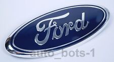 FORD F-250 F-350 2005 - 2007 BLUE OVAL FRONT GRILLE 9 INCH LOGO 4L3Z-1542528-AB