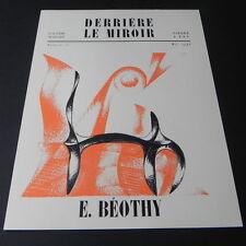 Derriere le Miroir # 10 1948 Art Magazine BEOTHY Maeght Editeur Lithographs