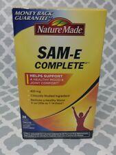 Nature Made SAM e Complete S Adenosylmethionine 400 mg 36 Tablets exp:10/2021