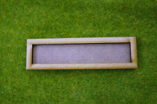 MDF laser cut MOVEMENT TRAY (5×1) 20mm Infantry Bases