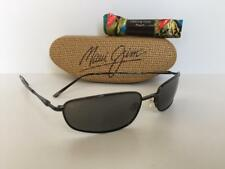 New Maui Jim SOUTH SHORE Polarized Sunglasses Black/Neutral Gray 115-02 Glass