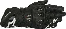 ALPINESTARS GP PRO R2 LEATHER GLOVES BLACK MEDIUM