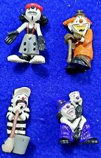Homies Figurines Assorted Psycho Clowns Series #1 Lot of 4