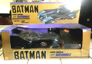 1989 Vintage Toybiz Batman Radio Control Batmobile - New in Box