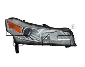 TYC Right Side HID Headlight Assy For Acura TL 2009-2011 Models