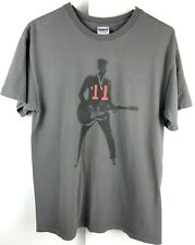 Official Bryan Adams 11 American Tour Tee Shirt Grey Medium Las Vegas Cincinnati