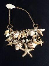 Alloy Beach Nautical Bib Costume Necklaces & Pendants
