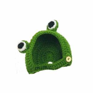 Cat Headdress Dog Ears Autumn & Winter Knitted Small Cartoon Pet Wool Cute Hat.