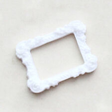 White Resin Carved Flower Photo Frames Picture Rustic Driftwood Chic Vintage