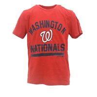 Washington Nationals Official MLB Genuine Kids Youth Size Distressed T-Shirt New