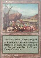 MTG Bad River ~ Uncommon Land Mirage (MIR) Magic The Gathering