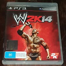 WWE 2K14 - Playstation 3 / PS3 game - Complete with manual - FREE POST