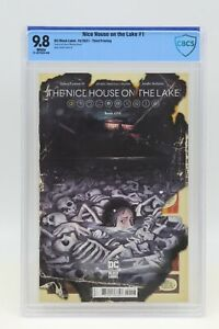 Nice House On The Lake (2021) #1 Third Printing CBCS 9.8 Blue Label White Pages