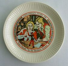 "Vintage, Wedgwood, 1981 Children's Story Plate. ""Tom Thumb"" Brothers Grimm"