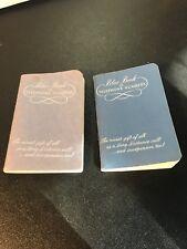 2 Vintage New England Telephone Co. Blue Book Of Telephone Numbers Unused