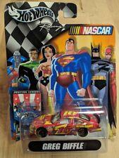 Hot Wheels Racing Greg Biffle Justice League NASCAR