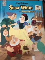 Classic Old Fashioned Snow White and the Seven Dwarfs (1994, Hardcover) Disney