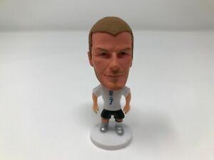 BECKHAM statuina Inghilterra pupazzo Soccerwe action figure