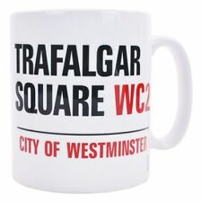 LONDON TRAFALGAR SQUARE 11 OZ COFFEE MUG TEA CUP UK ENGLAND POLITICAL CHARING!!!