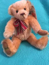 Vtg Merrythought Growler Mohair Jointed 16� Teddy Bear~Made In England #294/300