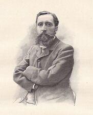 Portrait Georges Lecomte Mâcon Saône et Loire Écrivain École Estienne