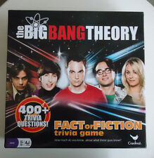 Warner Brothers Big Bang Theory Fact or Fiction Trivia Game -Age 12+ 2-8 Players