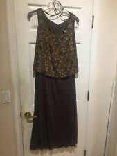 evening dress with jacket Size 16