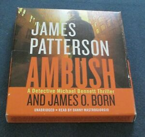 Ambush( Michael Bennett) Audio Book, by James Patterson, 2018, VF