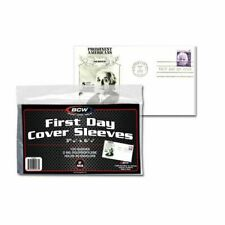 *10* loose FIRST DAY COVER POSTCARD 2 MIL SOFT POLY SLEEVES 3 15/16 x 6 7/8