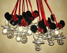 Minnie Mouse Pacifiers favors for Baby Shower or Birthday keepsake 24pcs