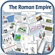 KS2 history ROMAN EMPIRE & ITS IMPACT ON BRITAIN Primary teaching resources CD