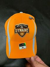 Houston Dynamo MLS Netburner hat  by Adidas Climalite flex   L/XL