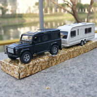 Land Rover Defender Black SUV + Touring Car Model Cars 1:32 Toys Alloy Diecast