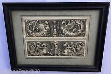 Très ancienne gravure XVIIIème? ornementation? frise antique chérubins