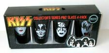 Kiss Band Collector`s Series Pint Glass 4-Pack, New in Box
